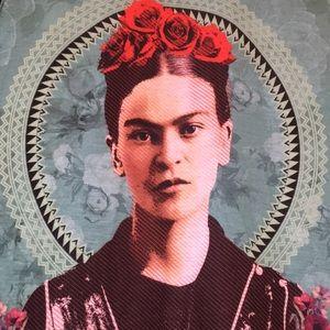 Frida Kahlo sleeveless tee NWOT